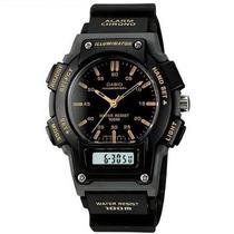 Reloj Casio Aq150 Analogo Digital Alarma Cronometro Luz