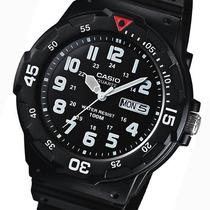 Relojes Casio Estandar Mrw200 Analogo Fecha Y Día Wr100m Hm4
