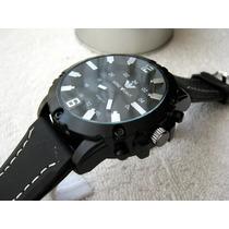 Excelente Reloj Emporio Armani Caucho 3d Subasta 1 Peso