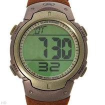 Reloj Extreme Para Hombre, Piel Gamuza Café, Digital 1