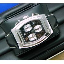 Reloj Technomarine Technosquare Cronografo Cristal Zafiro.