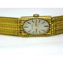 Reloj Enicar Caja Y Extensible Laminados Con Oro De 10k Dama