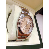 Rolex Oyster Perpetual Diamantes Ref 116034 Iwc Panerai Hm4