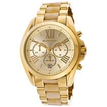 Reloj Michael Kors Bradshaw Mk5722 Dorado Garantia Acero Hm4
