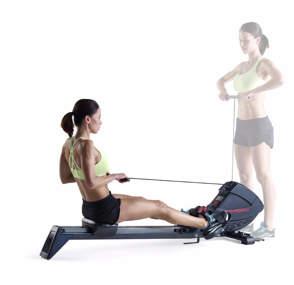 Remo remadora proform 440 r aparato maquina ejercicio gym for Aparatos de ejercicio