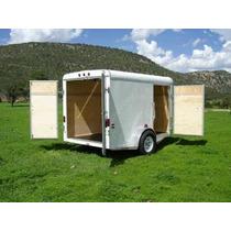 Remolque Nuevo Aluminio Caja Seca, Motoscuatrimotos,go Karts