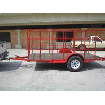 Remolque Multiusos Barandal Redila Camioneta Camiones Moto