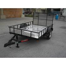 Remolque Cama Baja Rampa Cuatrimotos Camionetas Traila Mex
