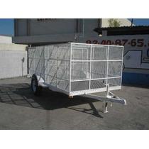 Remolque Jaula Malla Camion Camioneta Caja Contenedor