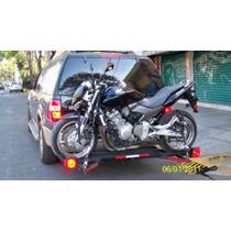 Remolque Rack Envidioso Portamoto Transversal Para Moto