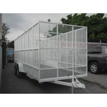 Remolque Jaula Malla Reciclaje Camionetas Camiones Pet Ver