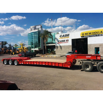 Lowboy Cama Baja 60 Toneladas Desmontable Non Grounded