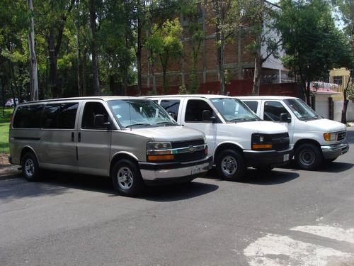 Renta Camioneta 7 A15 Pasajeros Van Dia Semana Mes Express
