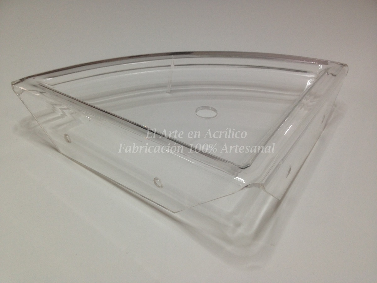 Repisa esquinero ideal para ba os paquete de 3 pzas for Repisa para bano sin taladro