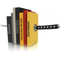 Repisa Para Libros Minimalista Espada Katana Samurai G1024