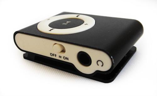 Reproductor Mp3 4gb Tipo Shuffle + Cargador De Pared Gratis!