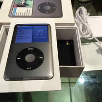 Ipod Classic 120gb Color Grafito Sincroniza A La Primera