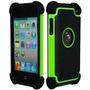 Bastex Caja De La Armadura Híbrido Para Apple Ipod Touch 4,