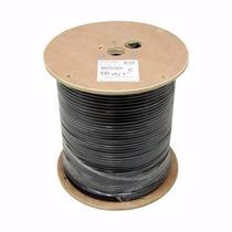 Rollo Bobina Cable Rg6 Con Guia 305m