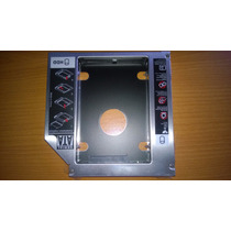Caddy Adaptador Dvd Para Tener 2 Discos Duros En Tu Laptop