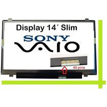 Pantalla Laptop 14 Led Slim Sony Pcg-61311u , Pcg-61211u