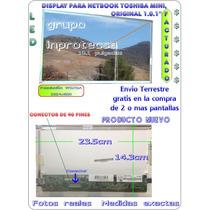 Pantalla Display Para Toshiban Nb505-sp160 Nb505 Nb 505 Mdn