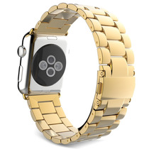Extensible Metal Original Oro Correa Apple Watch Dorado 42mm