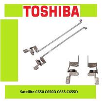 Bisagras Toshiba Satellite C650 C650d C655 C655d Nuevas