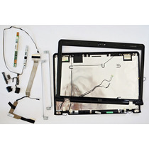 Kit Hp Dv2000 Tapa De Pantalla,marco,inverter, Cable Flex