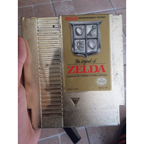 The Legend Of Zelda Nes Gold Edition! Original!