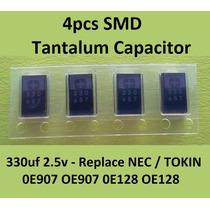 Capacitores Tantalio 2.5v 330uf Toshiba Nectokin 0e128 0e907
