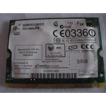 Tarjeta De Red Inalambrica Wm3b2200bg Dell Inspiron 700m