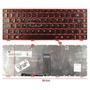 Teclado Nuevo Español (la) Para Lenovo G480 G485 Series Rojo
