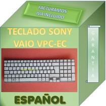 Teclado Para Laptop Sony Vaio Vpc-ec P/n 148794061