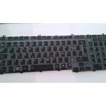 Teclado Toshiba A500 L505 Brilloso Tipo Piano En Español Hwo
