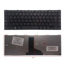 Teclado Toshiba C40 C40d-a C45-a C45d-a Con Marco Negro Esp