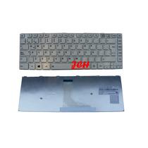 Teclado Toshiba C40 C40d C45 Blanco Mp-11b26la Con Marco