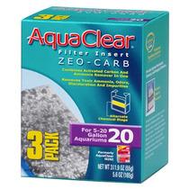 Repuesto Carbon-zeolita Para Filtros Aquaclear 20 (3 Pzas)
