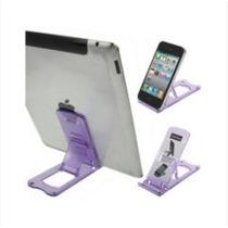 Suporte De Plástico P Ipads, Ipods, Ebook, Iphones