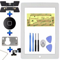 Kit Touchscreen Ipad 2 3 4 Cristal Completo Garantia