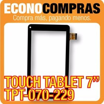 Touch Tablet China 7 Universal Tpt-070-229 Negra 100% Nueva!