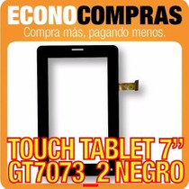 Touch Tablet China 7 Universal Gt7073_2 Negra 100% Nueva!!!!
