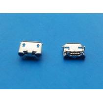 5 Piezas Conector Micro Usb Con Forma De Cuerno De Buey