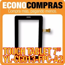 Touch Tablet China 7 Universal Yl-cg013-fpc-a2 100% Nueva!!!