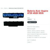 Batería Para Una Acer Aspire 5738/5338