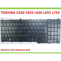 Teclado Toshiba L655 C650 C655 L650 L670 L675 En Español Ori