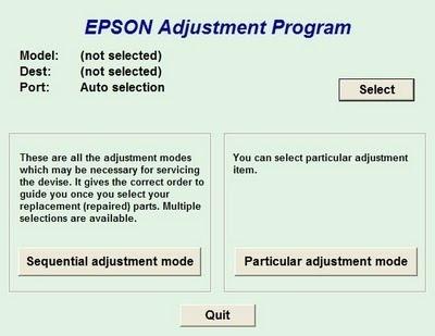 Reset Impresoras Epson Serie L Y Serie T
