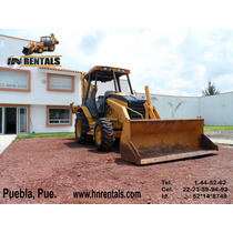 Retroexcavadora Caterpillar 416 D 2004 Traccion 4x4