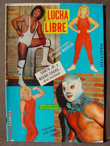 revista-lucha-libre-santo-jr-negro-casas