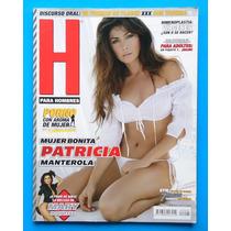 Revista H Para Hombres Patricia Manterola Poster Como Nueva